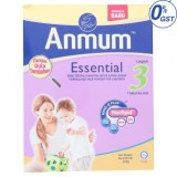 Anmum Essential Step 3 Plain Formulated Milk Powder For Children 1 Year And Above 900g