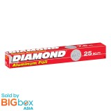 Diamond Aluminum Foil 25 ft