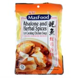 MasFood Abalone Herbal Spices Soup 110g - Malaysia