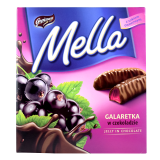Goplana Mella Dark Chocolate Jelly with Blackcurrant (190g) - Poland