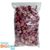 FoodCraft Frozen Rhubarb Red in pcs Frambuesa 1kg - Belgium