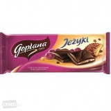 Goplana Milk Chocolate with Jezyki 90g - Poland
