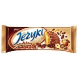 Goplana Jezyki Biscuits with Caramel & Coffee, Nut in Milk Chocolate 140g - Poland