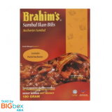 Brahim's Ready To Eat Meals 180g - Anchovies Sambal