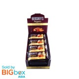 Hershey's Nugget Stick Pack 6P Milk with Almond 56g x 24 (1.34kg) - USA