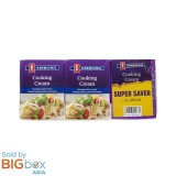 Emborg French UHT Cooking Cream Value Pack 3 x 200ml (600ml) - Europe