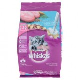 Whiskas Junior Ocean Fish Flavor With Milk 2-12 Months 1.1kg - US