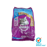 Whiskas Salmon Pockets Hairball Control 1.1kg + 200g - Chicken & Tuna