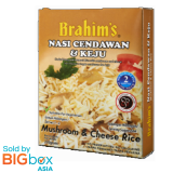 Brahim's Ready To Eat Meals 250g - Cheese & Mushrooms Rice