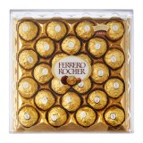 Ferrero Rocher Chocolate 24 pieces (1 box ) 4 x 300g - Italy