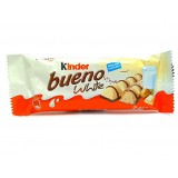 Kinder Bueno White 2 pieces  43g   - Italy