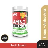Optimum Nutrition Amino Energy Natural Flavour 225g - Simply Fruit Punch