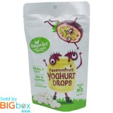 Kiwigarden Passionfruit Yoghurt Drops 20g - New Zealand