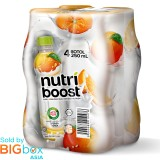 Nutri Boost Orange PET 250ml x 4
