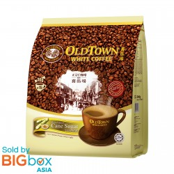 OLDTOWN White Coffee 3in1 Natural Cane Sugar 36g x 15sticks [BUNDLE OF 3 with FREE GIFT]