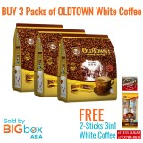 OLDTOWN White Coffee 3in1 Classic 38g x 15sticks [BUNDLE OF 3 with FREE GIFT]