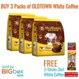 OLDTOWN White Coffee 2in1 Coffee & Creamer 25g x 15sticks [BUNDLE OF 3 with FREE GIFT]