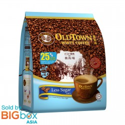 OLDTOWN White Coffee 3in1 Less Sugar 35g x 15sticks [BUNDLE OF 3 with FREE GIFT]