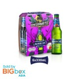 Barbican Pomegranate Glass Bottle 330ml x 6 [MULTIPACK 6's]