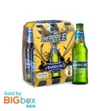 Barbican Pineapple Glass Bottle 330ml x 6 [MULTIPACK 6's]