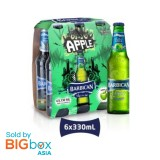 Barbican Apple Glass Bottle 330ml x 6 [MULTIPACK 6's]