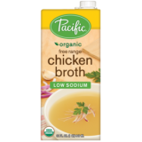 Pacific - Organic Low Sodium Chicken Broth (946ml) - USA