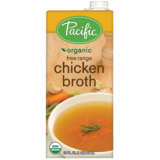 Pacific - Organic Free Range Chicken Broth (946ml) - USA