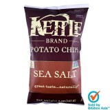 Kettle Potato Chips 142g - Light Salted Sea Salt