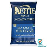Kettle Potato Chips 142g - Sea Salt & Vinegar