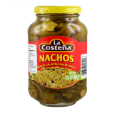 La Costena - Nacho Sliced Jalapeno Peppers in Glass Jar (440g) - Mexico