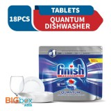 Finish Power Ball Dishwasher Cleaning Tablets 18 pieces - Quantum