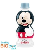 Evian Mickey 90th Anniversary Mineral Water TOTEM Collector 310ml - 1 Bottle (Random Design)