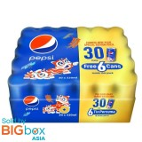 Pepsi Regular New Year Special Edition (320ml x 24) [Free 6 Cans]
