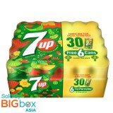 7Up New Year Special Edition (320ml x 24) [Free 6 Cans]