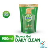 OBS- Dettol Shower Gel (Refill) 900g - Daily Clean