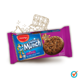 Munchy's Captain Munch Cookies 60g - Double Chocolate