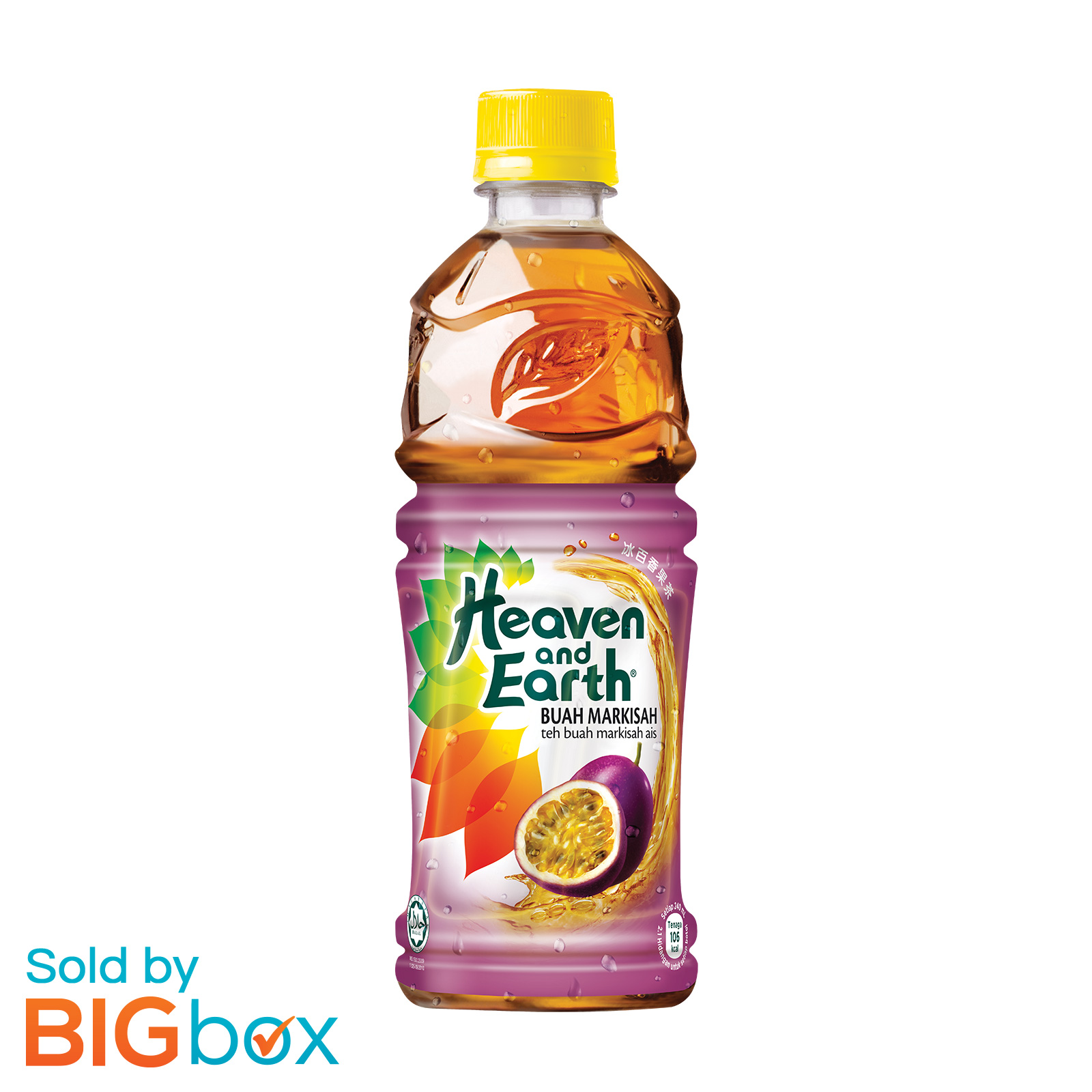 Heaven and Earth 500ml - Ice Passion Fruit