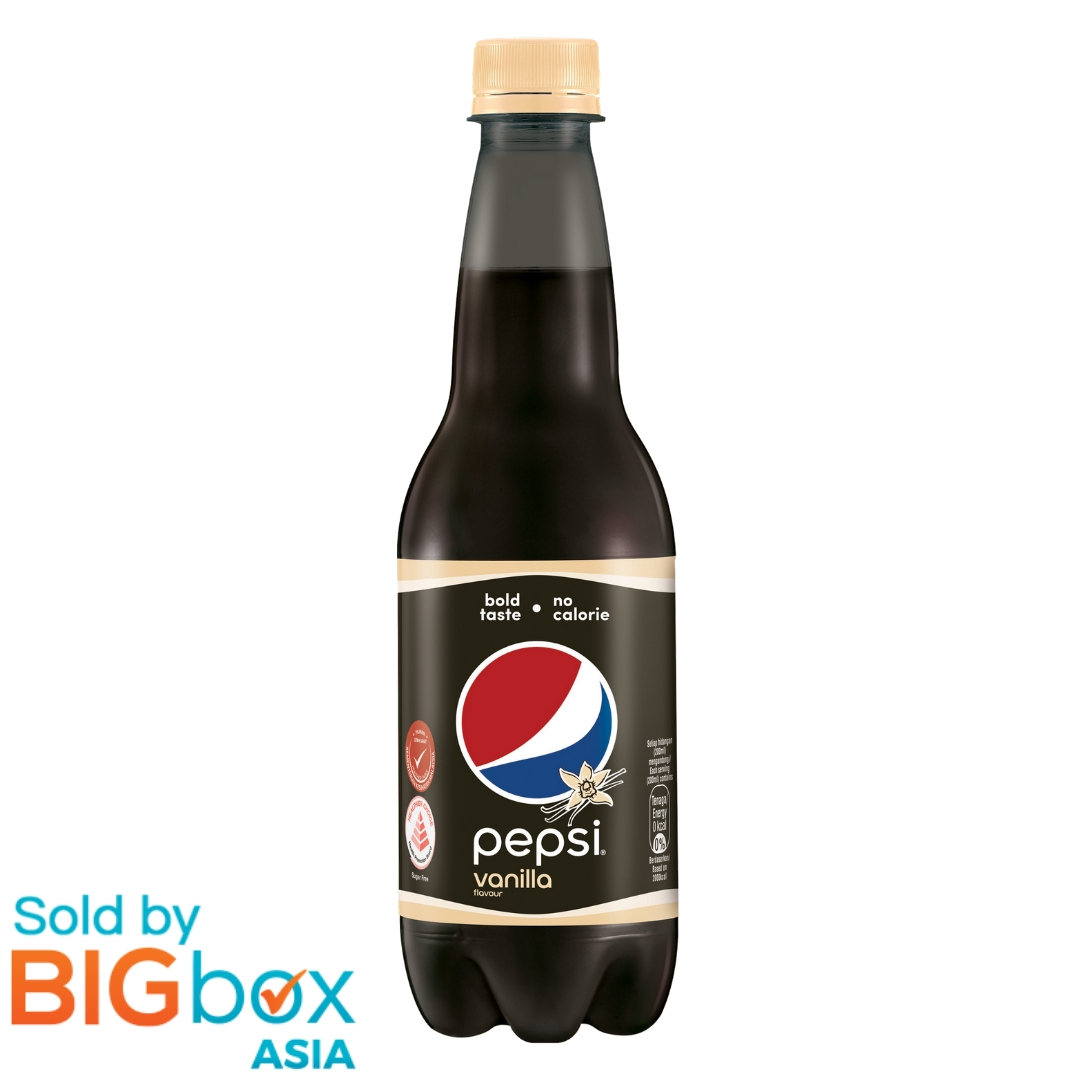 Pepsi Black Vanilla PET 400ml