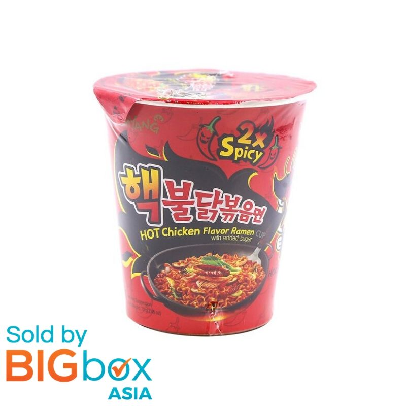 Samyang Hot Ramen Cup 70g - Chicken Double Spicy