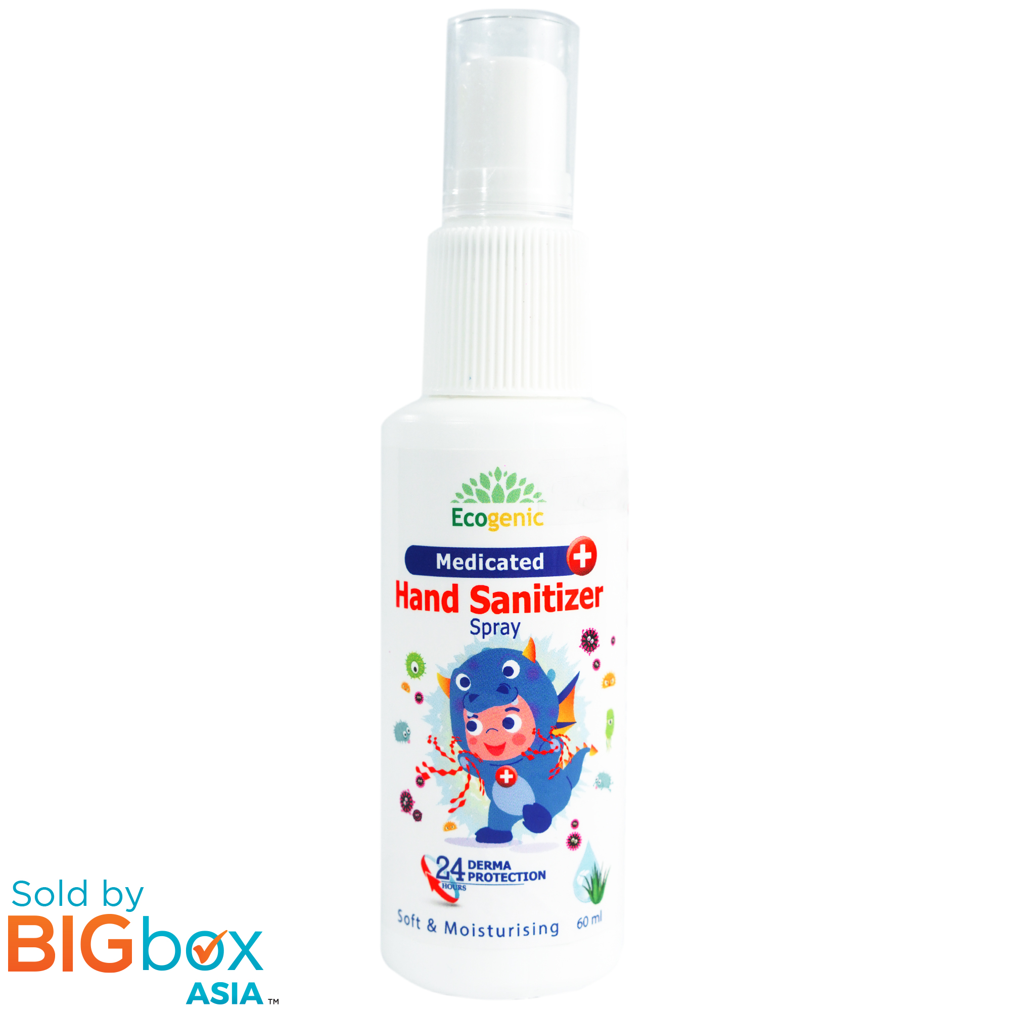 Ecogenic Medicated Hand Sanitizer Spray 60ml x 5