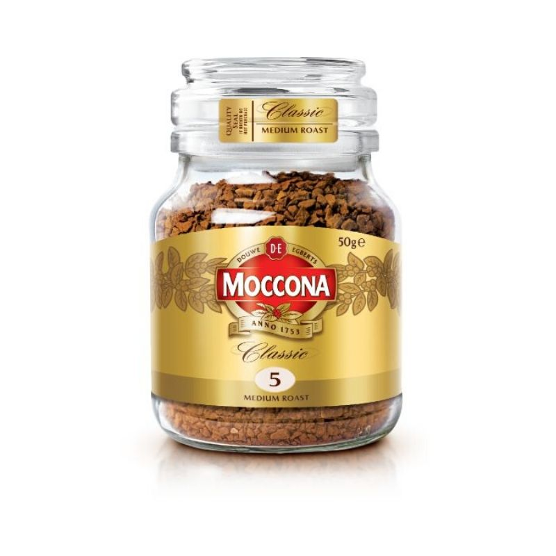 Moccona Classic 5 Medium Roast 50g