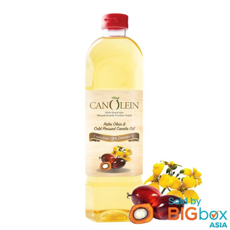 CanOlein Palm Olein & Cold Pressed 1kg - Canola Oil